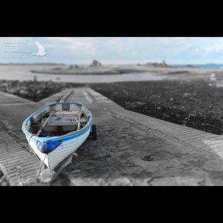 Boat on the slip