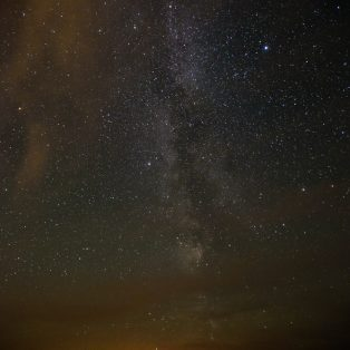 The Milky way from Skomer